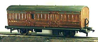 LNER Luggage Van